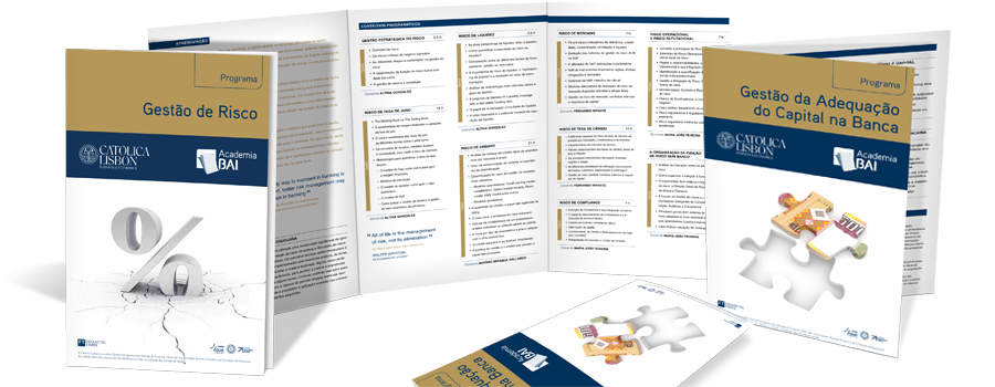 Brochuras de divulgação